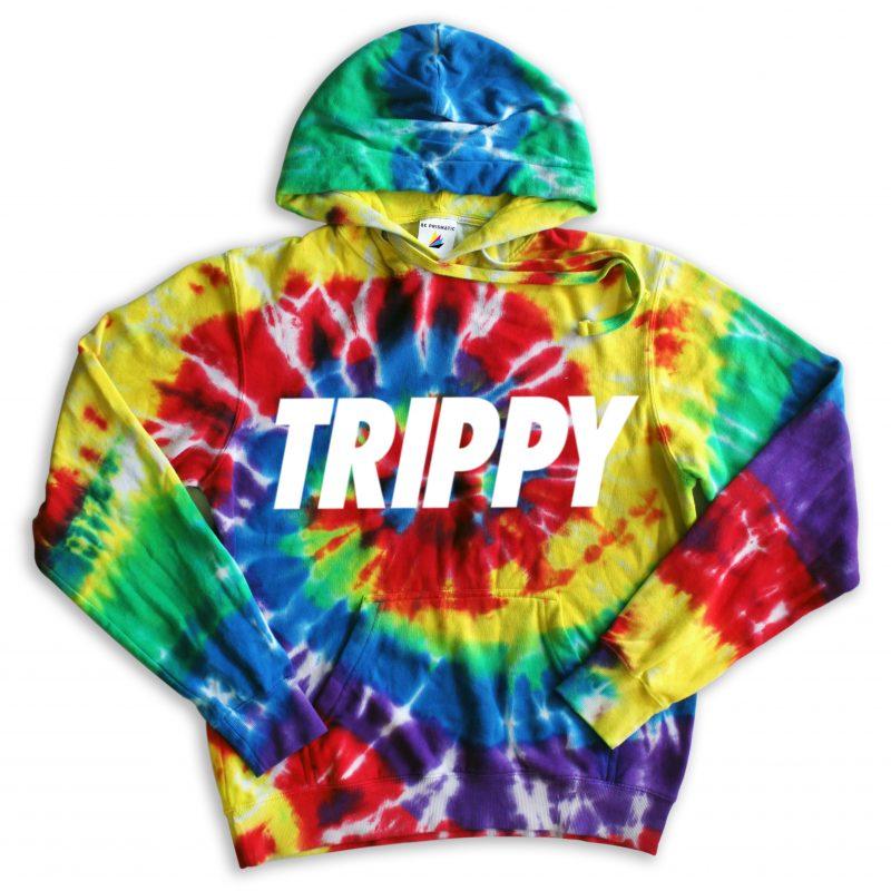 Trippy Tie Dye Hoodie Beprismatic